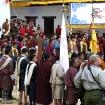 Rinpocze wita gości honorowych