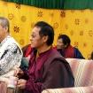 Rinpocze w towarzystwie gości