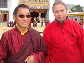 Gangteng Tulku Rinpoche & Johannes Frishknecht