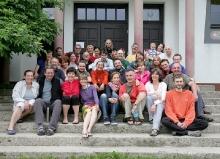 Lama Chhimi i uczestnicy Tsa Lung Tigle