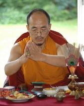 Khenpo Karma Wangyal - Inicjacja