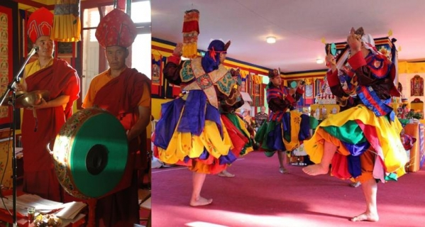 Tańce czam i muzyka dharmy