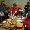 Lama Chhimmi przygotowuje tormę ofiarną (Khordo Ruszen) 1