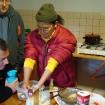 Lama Chhimi przygotowuje tormę ofiarną (Khordo Ruszen) 2