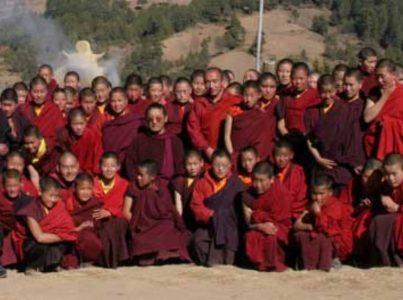 Mniszki z Pema Czoling (Bhutan) po raz pierwszy w Europie, 27-30.04.17 Darnków
