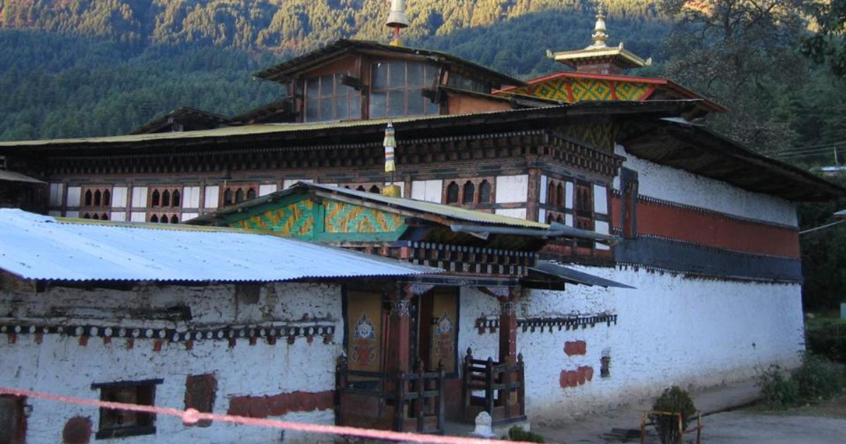 Gompy Lhalunga Sungtrula Rinpocze Gompa Tamszing