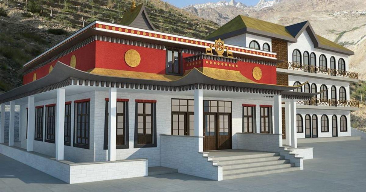 Gompy Gangtenga Tulku Rinpocze Gompa Urgain Czieling