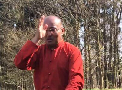 Lhalung Sungtrul Rinpocze pobłogosławił ziemiępod Ośrodek – 18 kwietnia 2018r.
